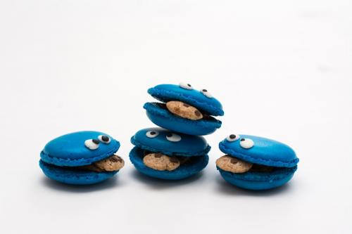 Makaroniki Cookie Monster